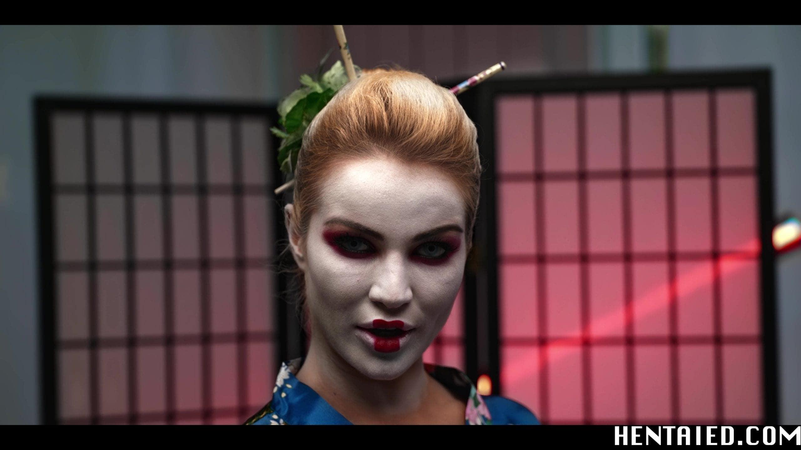 Geisha Cherry Kiss cosplay pornstar
