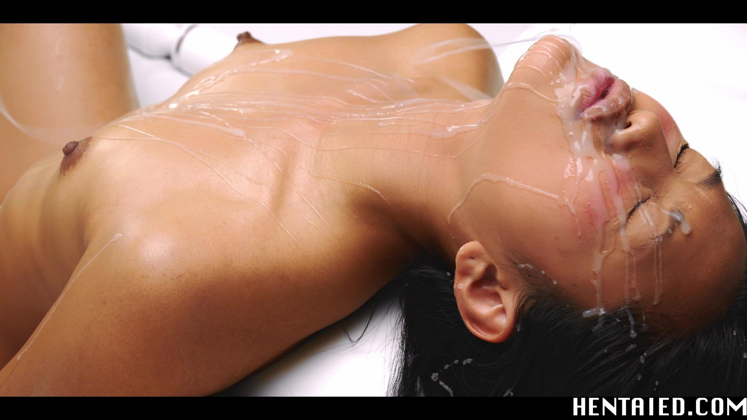 Beautiful Asian May Thai facial
